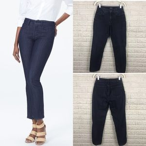 NYDJ Sheri Slim Jeans Dark Wash Petite